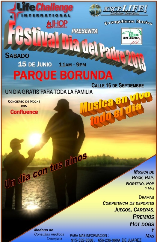 Flyer For 2013 Dia Del Padre Event